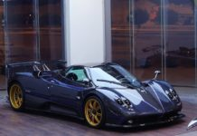 One of the three Pagani Zonda Tricolore is up for sale