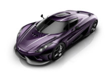 Purple Koenigsegg Regera, paying tribute to Prince