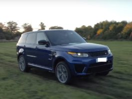 Range Rover has prepared a promotional video for the Sport SVR