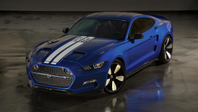 The Galpin Rocket Mustang will be produced by VLF Automotive