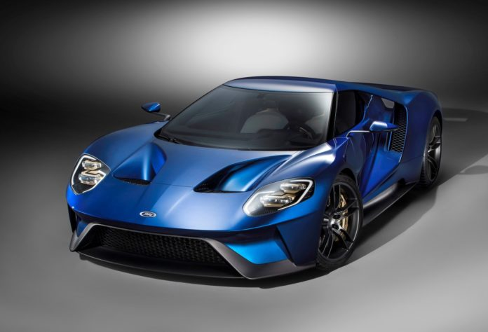 The Official specifications of the new Ford GT