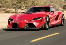 The Toyota Supra Concept will be presented in October