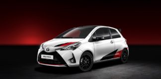 The most powerful version of the Toyota Yaris