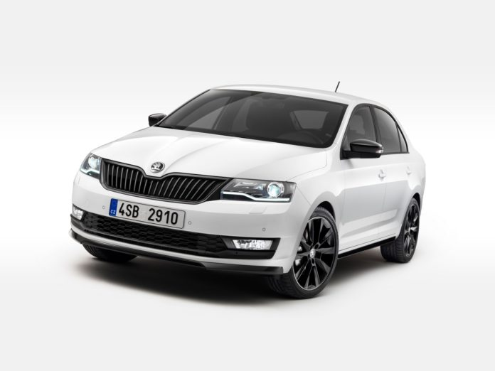 2017 Skoda Rapid facelift