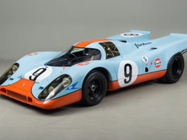 A 1970 Porsche 917K with a Gulf livery is up for sale