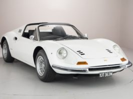 A 1974 Ferrari Dino is up for sale