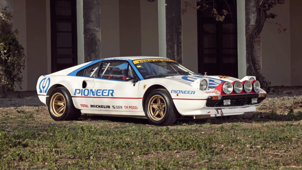 A 1980 Ferrari 308 GTB Group 4 is heading to auction