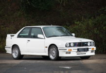 A 1988 BMW E30 M3 is heading to auction