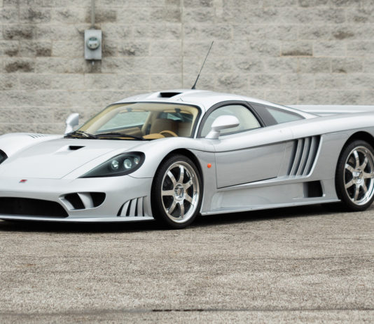 A 2004 Saleen S7 is heading to auction