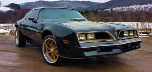 A beautiful 1977 Pontiac Trans Am Bandit is up for sale