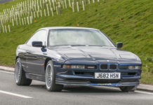 A beautiful Alpina B12 5.0 is heading to auction
