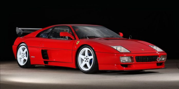 A gorgeous Ferrari 348 LM is up for sale
