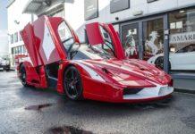 A street-legal Ferrari FXX Evo is up for sale