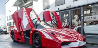 A street-legal Ferrari FXX Evo is up for sale