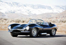 A very rare 1957 Jaguar XKSS is heading to auction