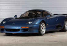 A very rare Jaguar XJR-15 is up for sale