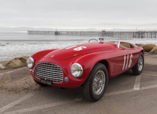 An extremely rare 1950 Ferrari 166 MM is heading to auction