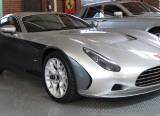 An extremely rare Perana Zagato Z-One is up for sale