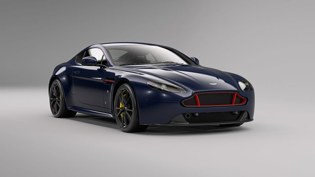 Aston Martin presented the Red Bull Racing Editions for the V8 and V12 Vantage