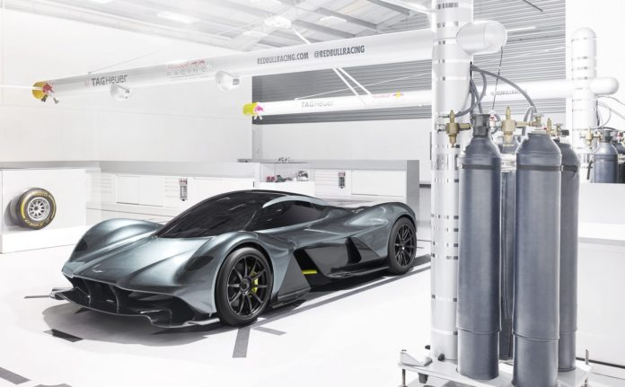 Aston Martin revealed new details for the AM-RB 001