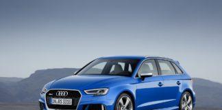 Audi RS3 Sportback facelift