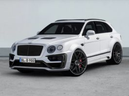 Bentley Bentayga by Lumma Design