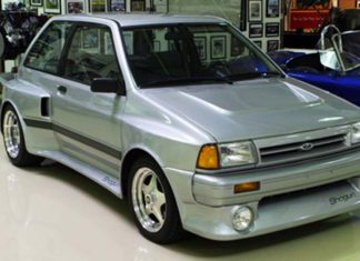 Car Legends Ford Festiva V6 Shogun