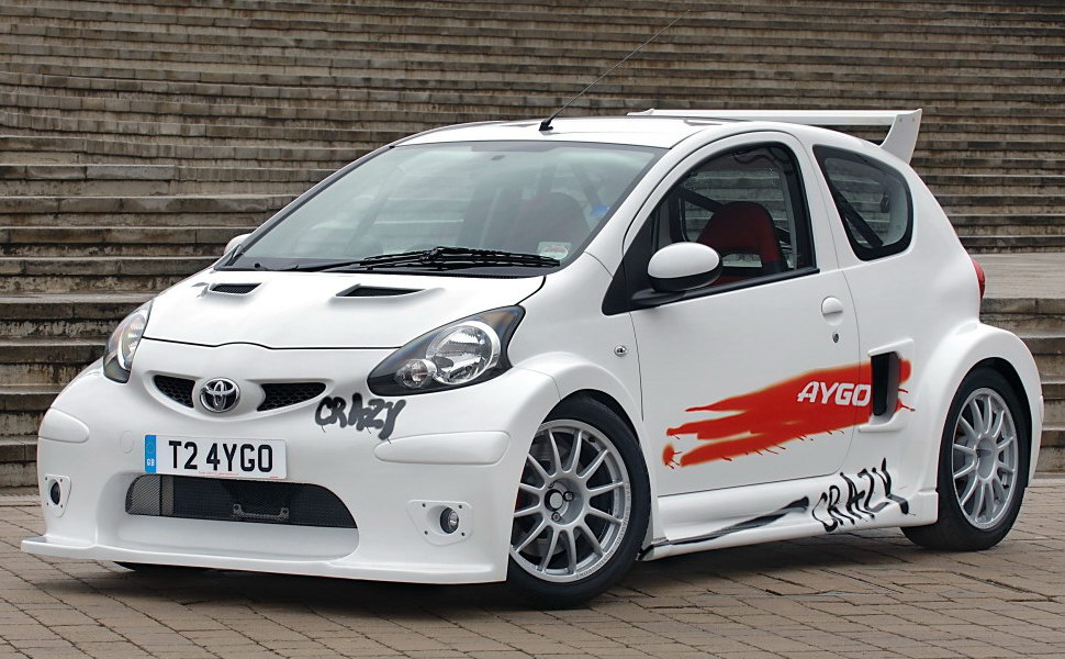 Car Legends: Toyota Aygo Crazy