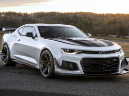 Chevrolet presented the 1LE package for the Camaro ZL1