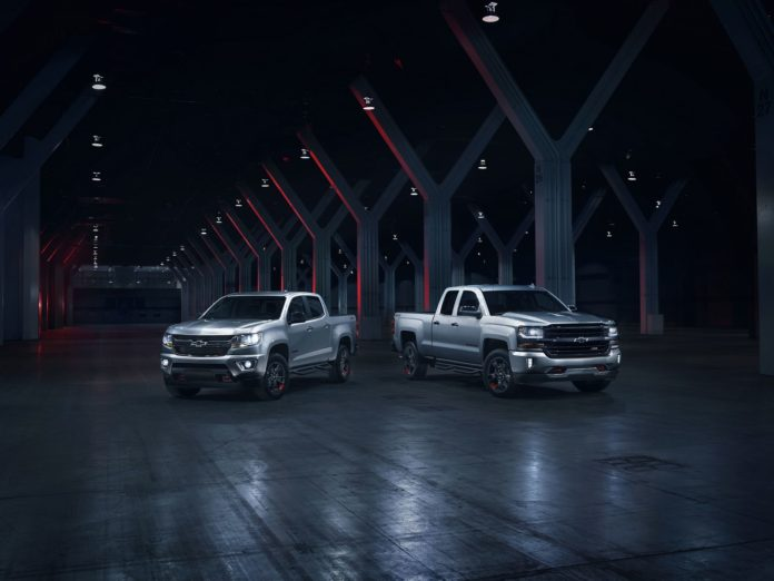 Chevrolet presented the Redline Special Editions of their models