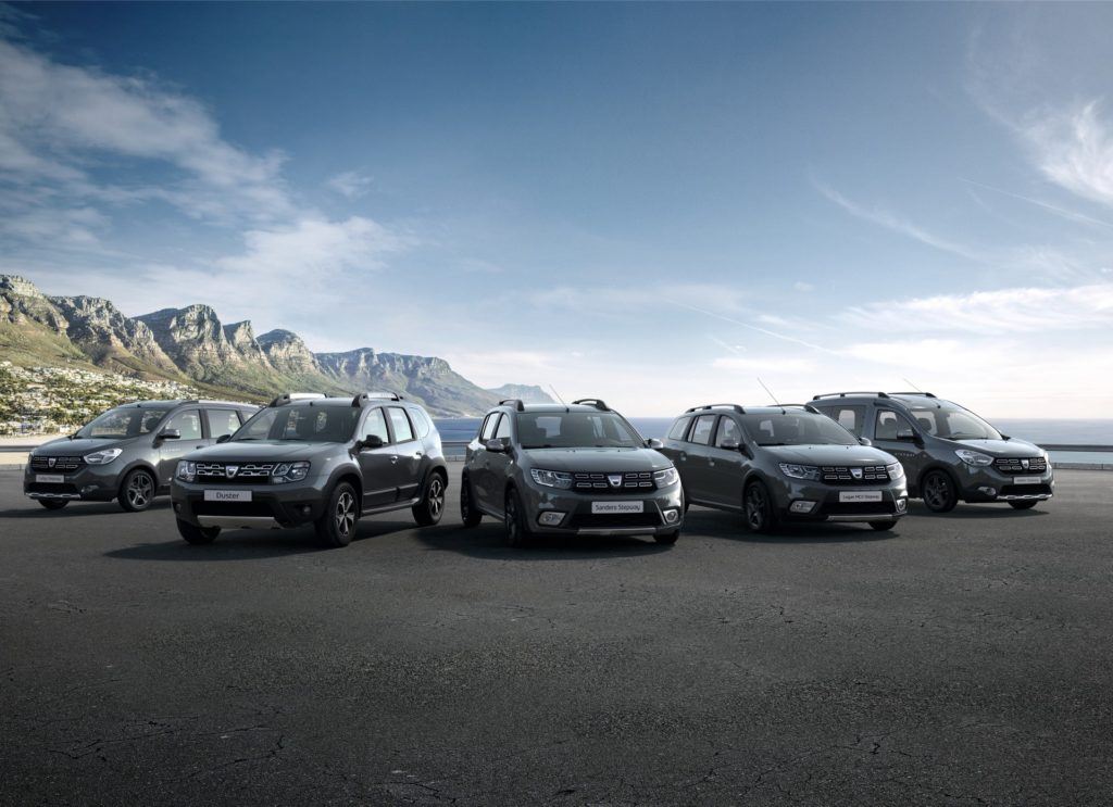 Dacia presented the Summit special editions