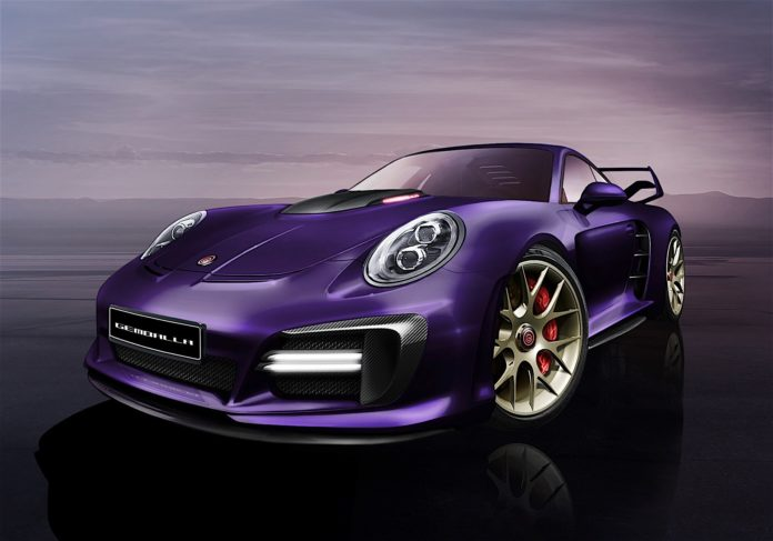 Gemballa will present the new Avalanche tuning package for the Porsche 911 Turbo in Geneva