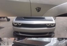 Leaked photos of the Dodge Challenger SRT Demon