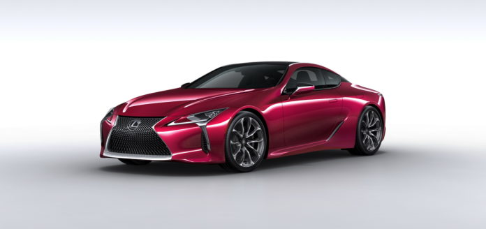 Lexus is starting the production of the LC 500 in March