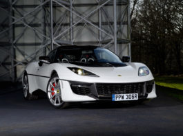 Lotus presented the one off Evora Sport 410