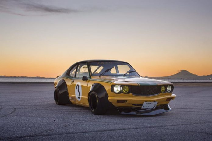 Mazda RX-3 by Liberty Walk