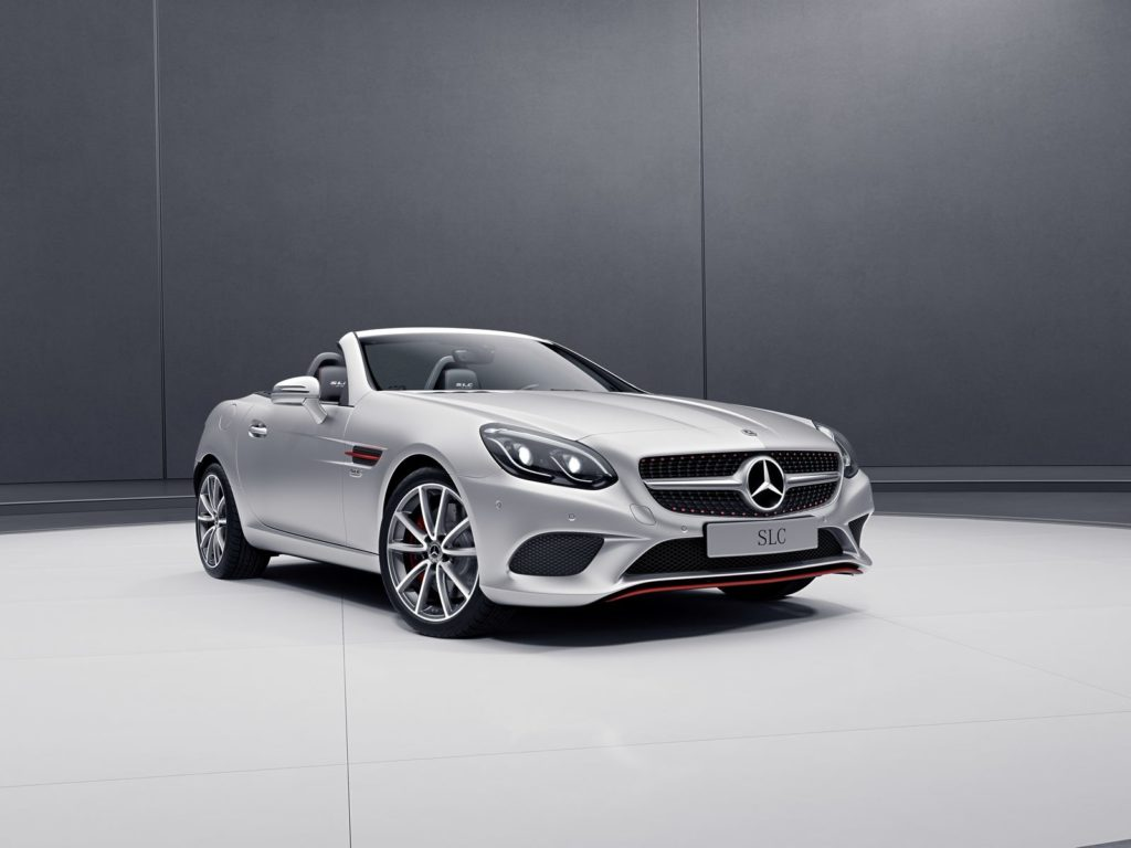 Mercedes-Benz SLC RedArt and SL designo Edition