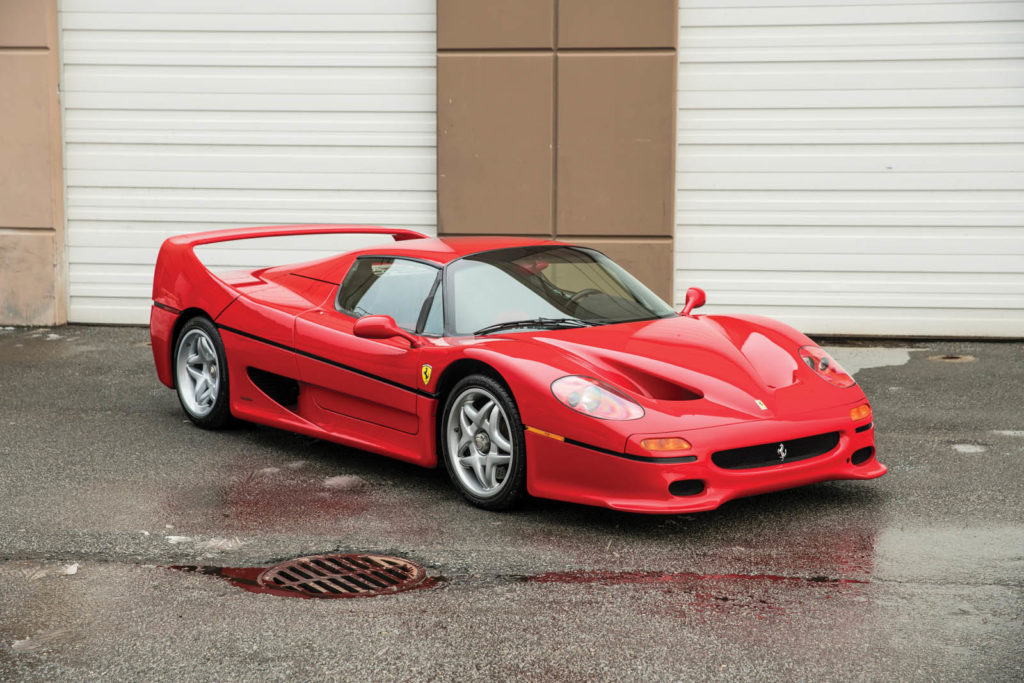 Mike Tyson's Ferrari F50 is heading to auction