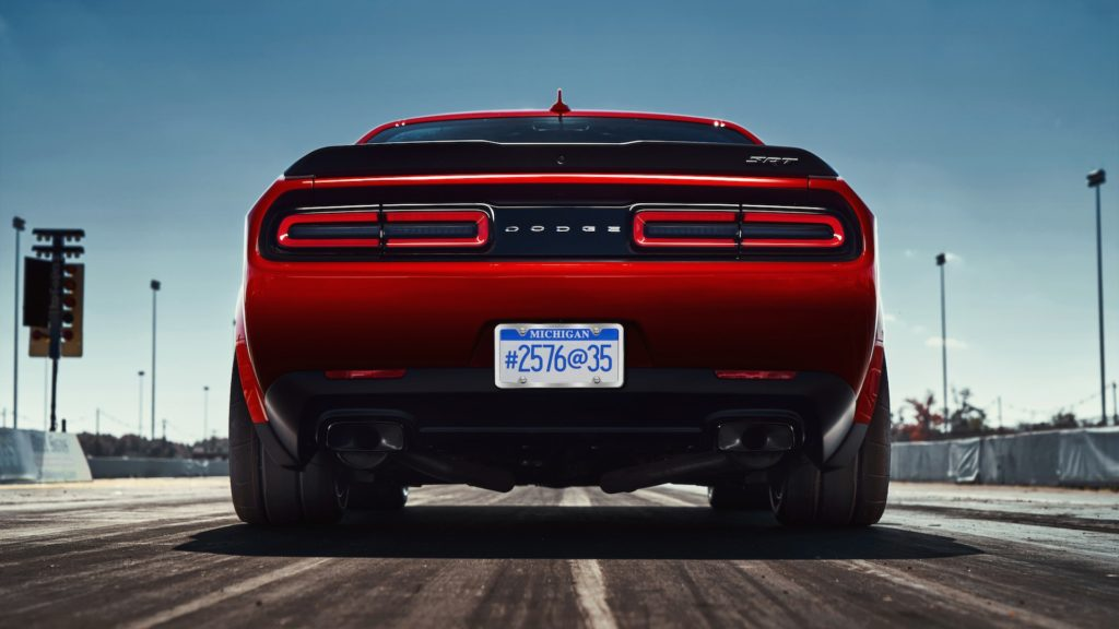 New information on the Dodge Challenger SRT Demon