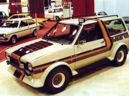 Old Concept Cars Ford Fiesta Tuareg