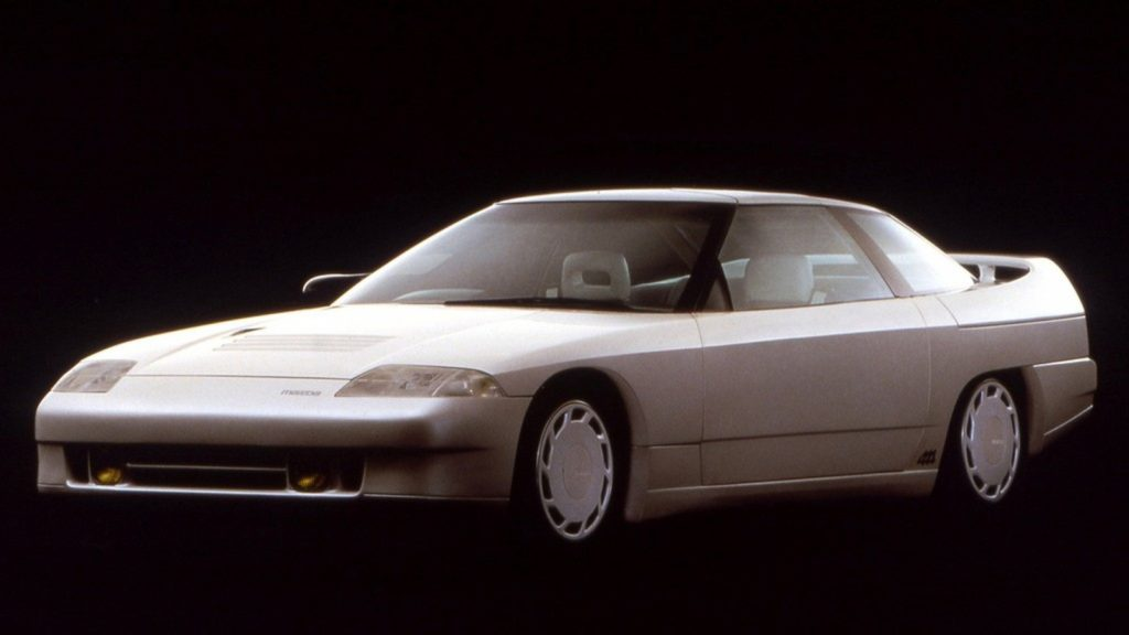 Old Concept Cars Mazda MX-03