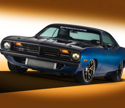 Plymouth Barracuda by SpeedKore