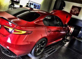 Pogea Racing presented a new tuning kit for the Alfa Romeo Giulia Quadrifoglio