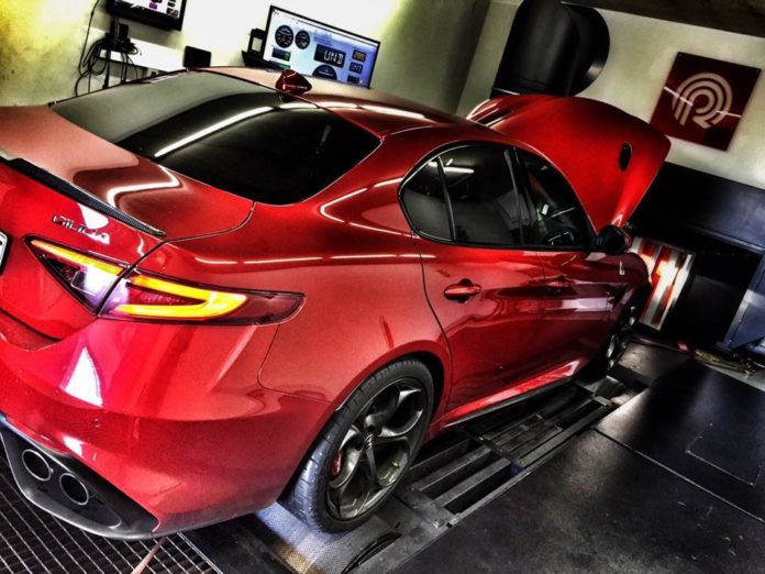 Pogea Racing presented a new tuning kit for the Alfa Romeo Giulia Quadrifoglio
