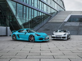 Porsche 718 Cayman S and Boxster S by TechArt