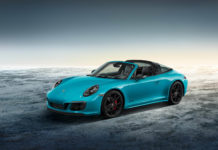Porsche Exclusive presented the 911 Targa 4 GTS Sport Design