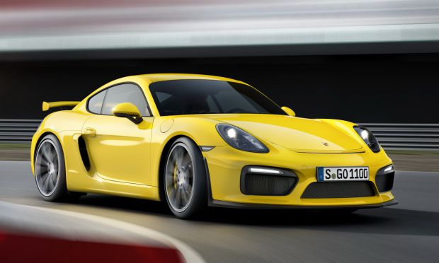 Porsche is preparing the Cayman GT4 RS
