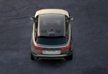 Range Rover released information for the Velar