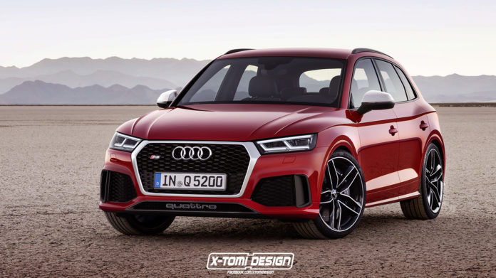 Rumors The Audi RS Q5 will be presented in Geneva