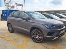 Seat is thinking of a sporty crossover
